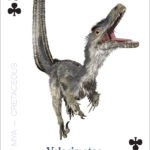 The Amazing World of Dinosaurs Playing Cards